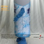 Enerji İçeceği Maskot kostümü / Avusturya