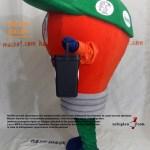Ampul Maskot Kostümü / Malatya Büyükşehir Belediyesi / Çevre Koruma Müdürlüğü