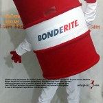 Varil maskot kostümü / Bonderite / Henkel / PTC
