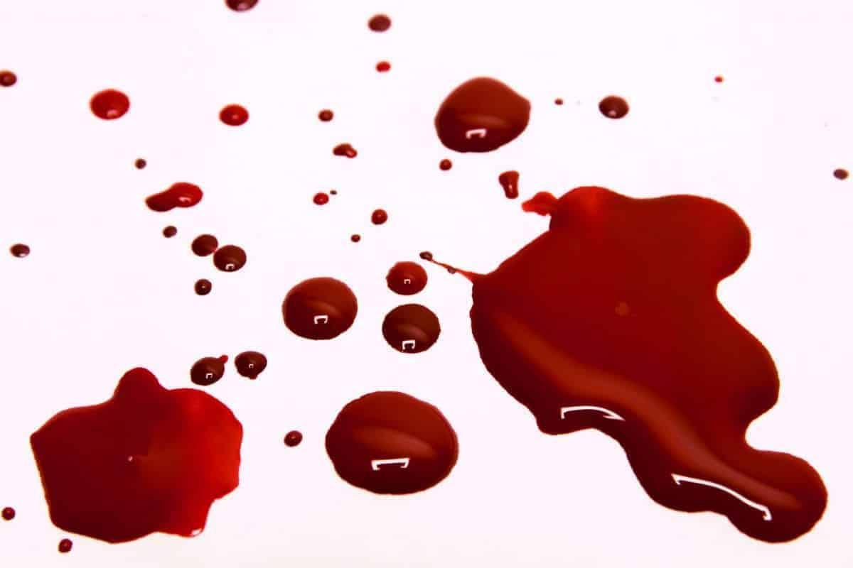 White Blood Background Jesus