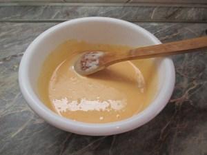 Sütőtökös palacsinta tészta tökkel