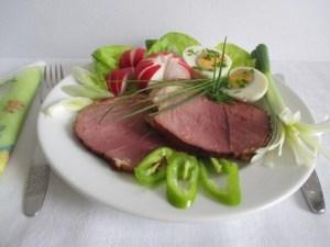 Húsvéti vacsora tányér - 1