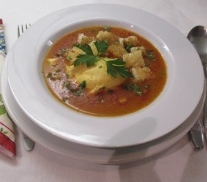 Tojásleves, tojásos leves