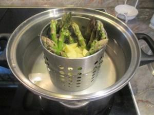 Spárga főzése 1