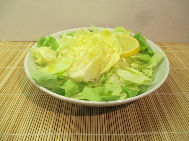 Fejes saláta hagyományosan