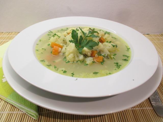 Karfiol leves tálalva 1