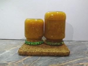 Karácsonyi narancslekvár üvegben