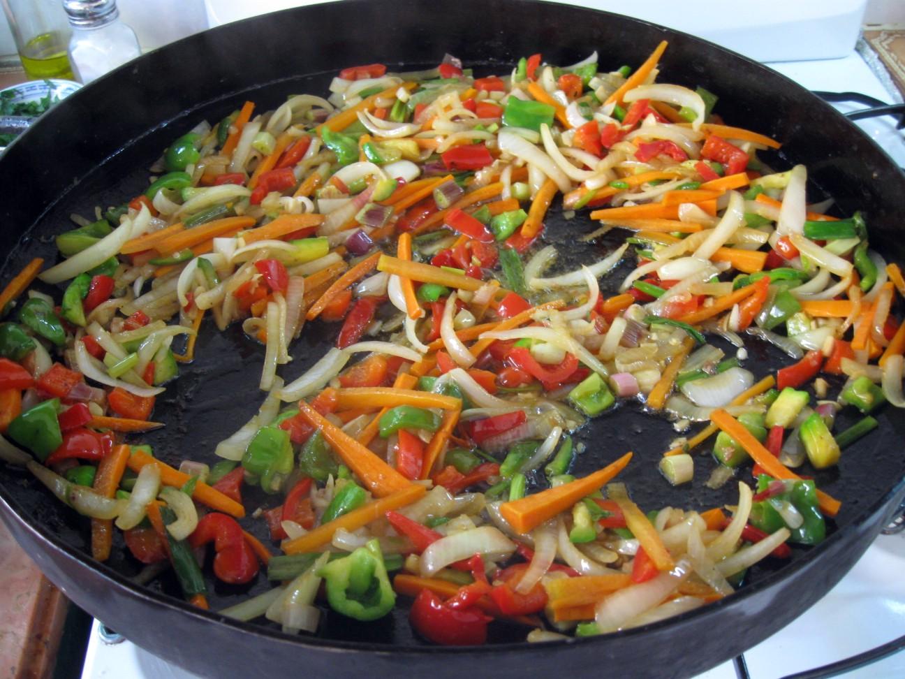 Verduras a la sidra  Platos principales  HazteVegcom
