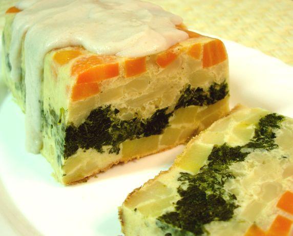 Pastel de verduras  Platos principales  Tartas  Quiches
