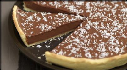 Tarta de chocolate y coco  Postres  Tartas  Pasteles