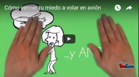 video como vencer el miedo a volar en avion