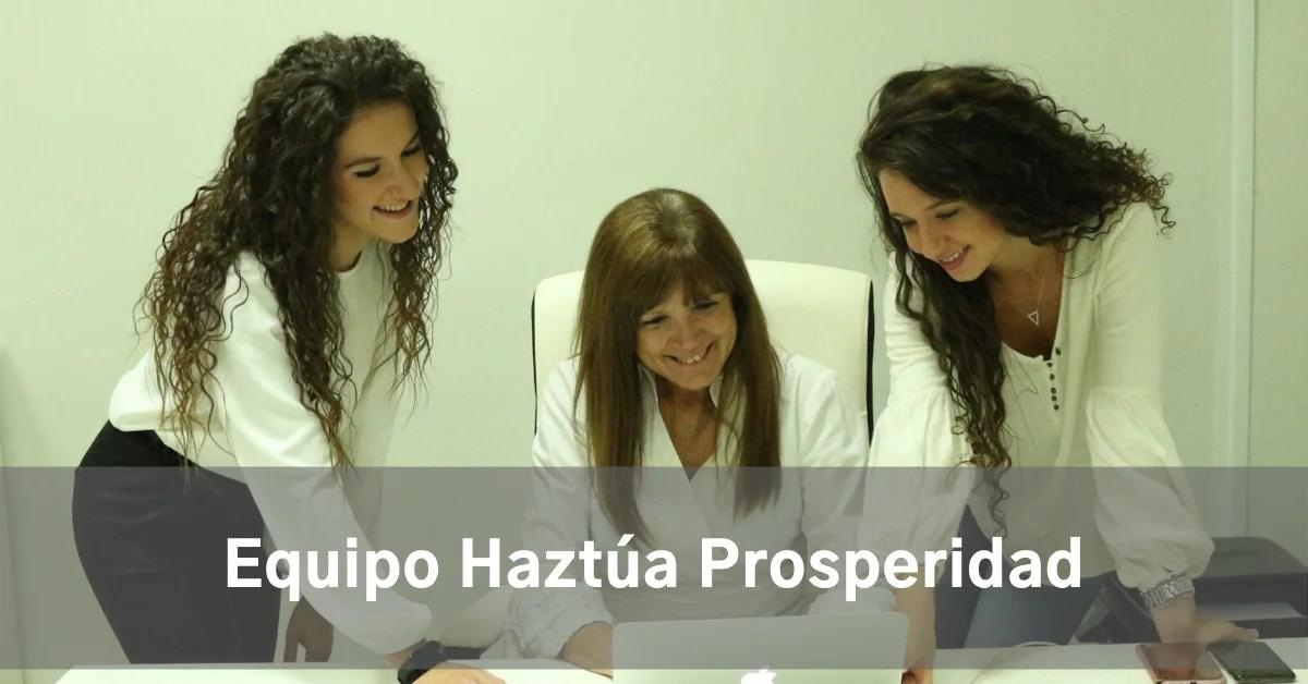 equipo Haztúa Prosperidad