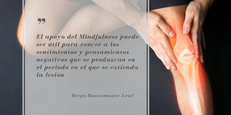 mindfulness y lesiones deportivas