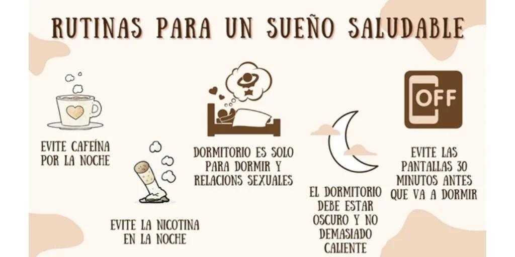rutinas sueño saludable