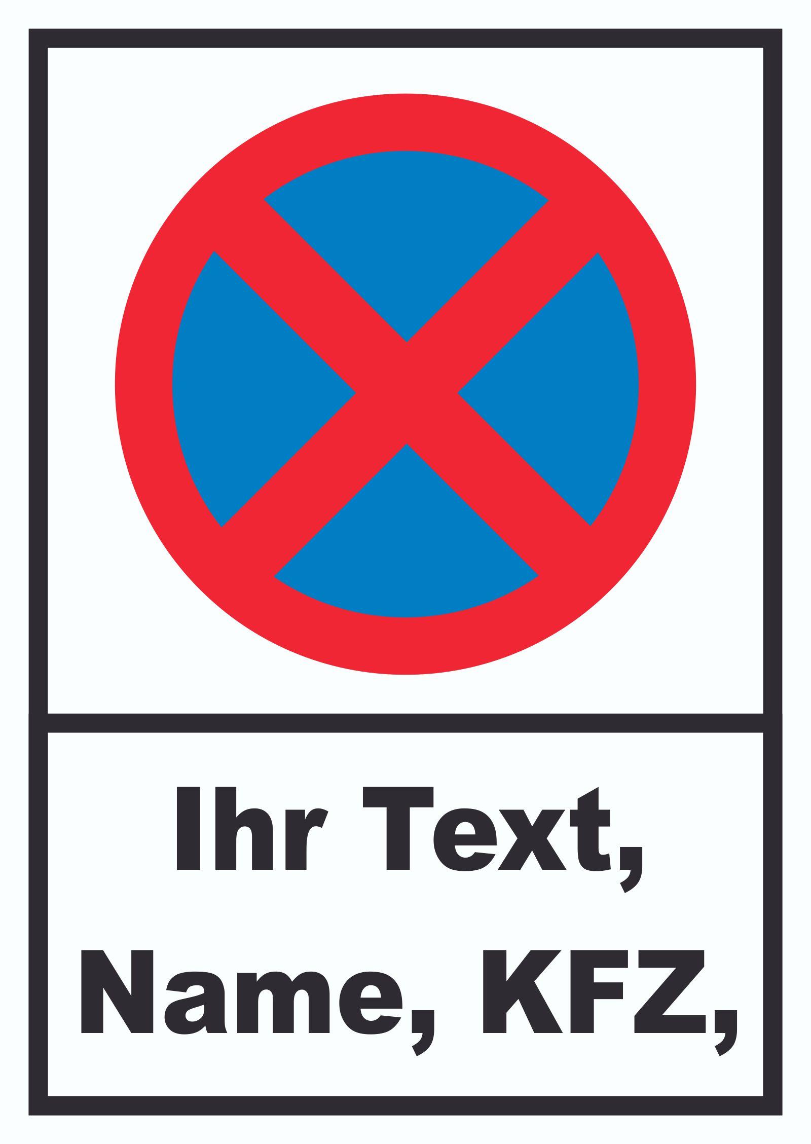 Schilder Wunschtext  HBDruck Schilder Textildruck