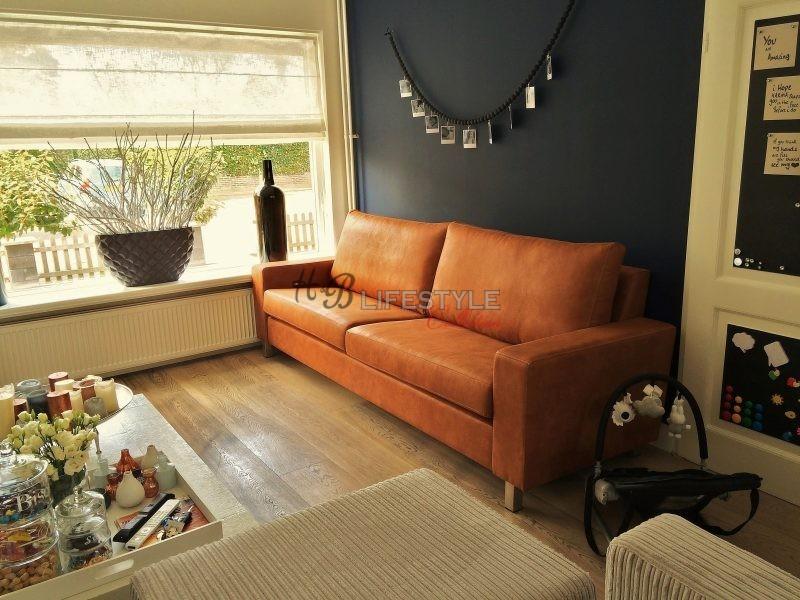 Geef Kleur Aan Uw Leren Bank.Cognac Bank Hb Lifestyle Collection