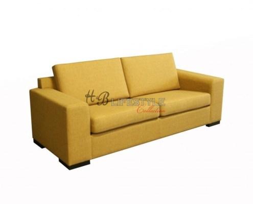 Gele bank 3 zits