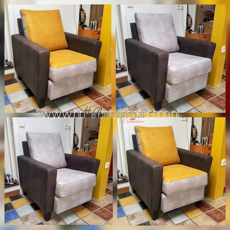 Hedendaags 10 Aparte fauteuils, haal het zonnetje in huis - HB Lifestyle ZU-19