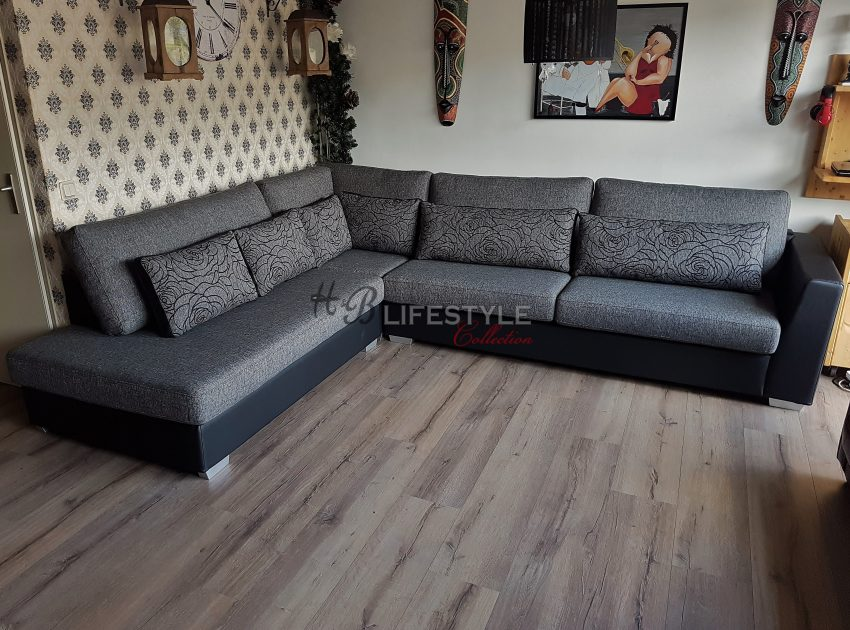 Grote bank kleine woonkamer - HB Lifestyle Collection