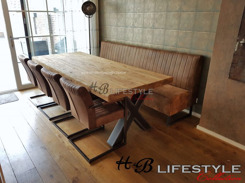 Bankje bij eettafel hb lifestyle collection