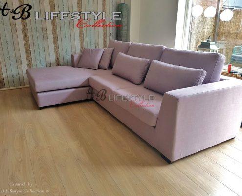 bank met lounge gedeelte
