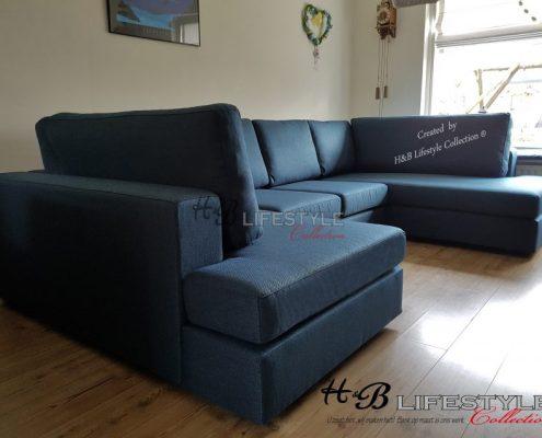 chaise longue banken u vorm