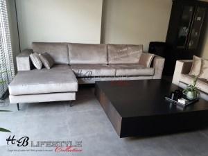 strakke moderne banken lounge