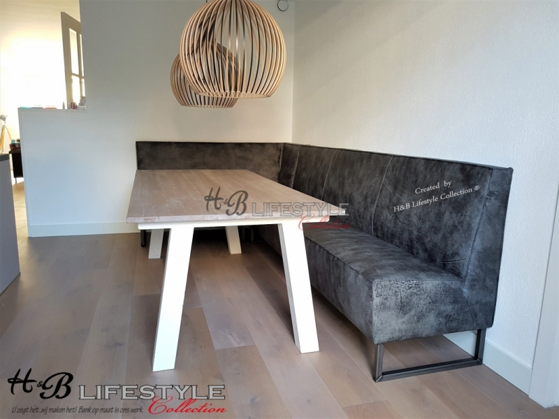 Nieuw Eettafel hoekbank - HB Lifestyle Collection KB-78