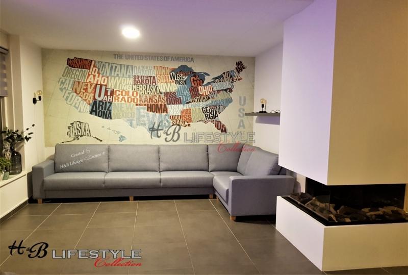 Licht Grijze Stoffen Hoekbank.Hoekbank Op Maat Snel Betaalbaar Hb Lifestyle Collection