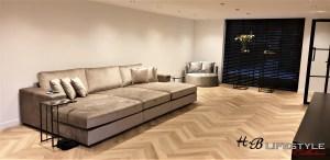Luxury metropolitan stijl maat bank