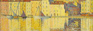 Paul Signac - Maisons du port Saint Tropez