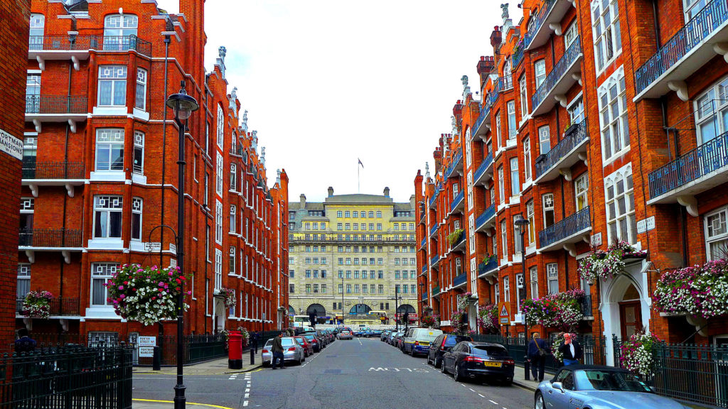Chiltern Street, Marylebone, London