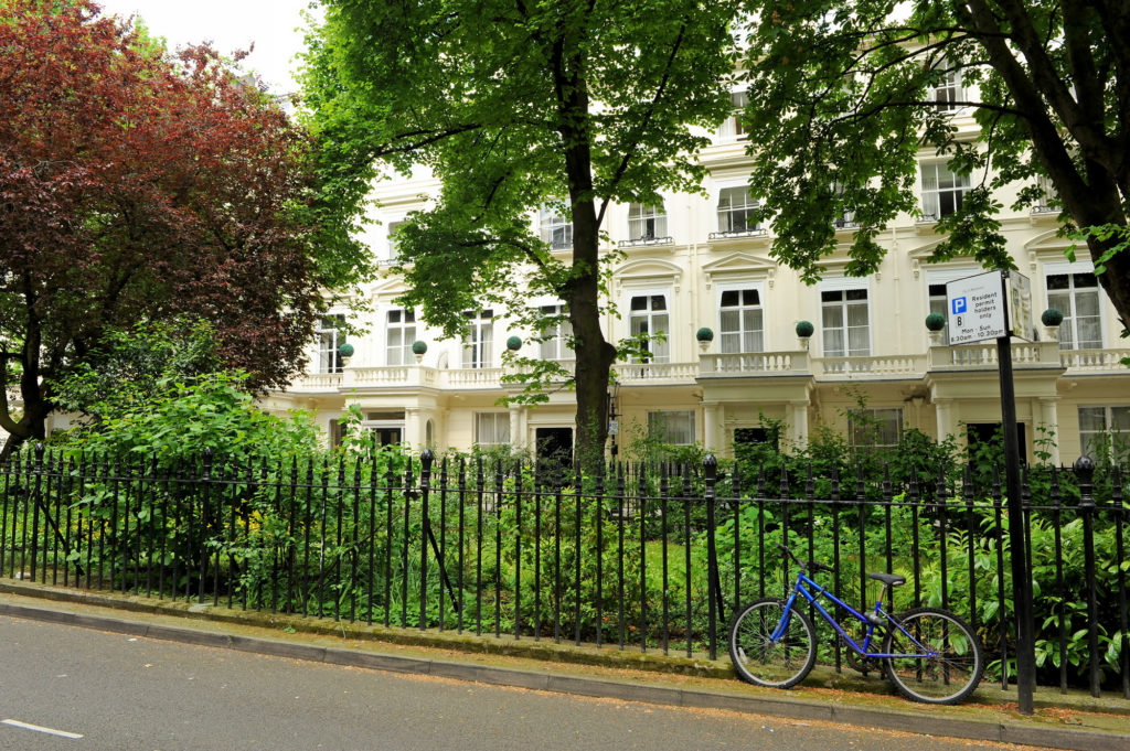 Queen's Gardens, Bayswater, London, United Kingdom