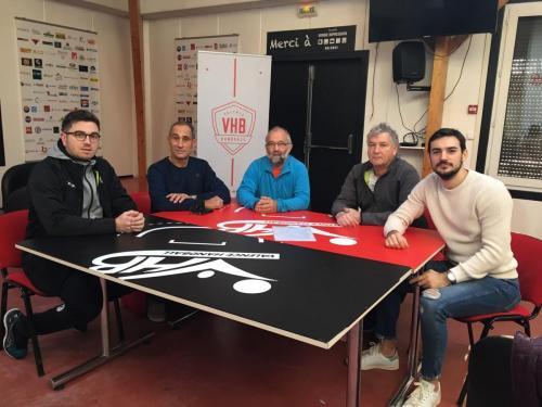 Signature partenariat VHB -13 Garçons