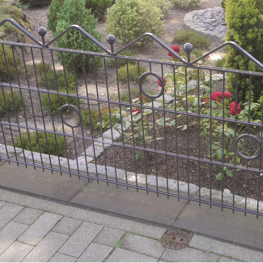 panneaux de jardin deco ondule