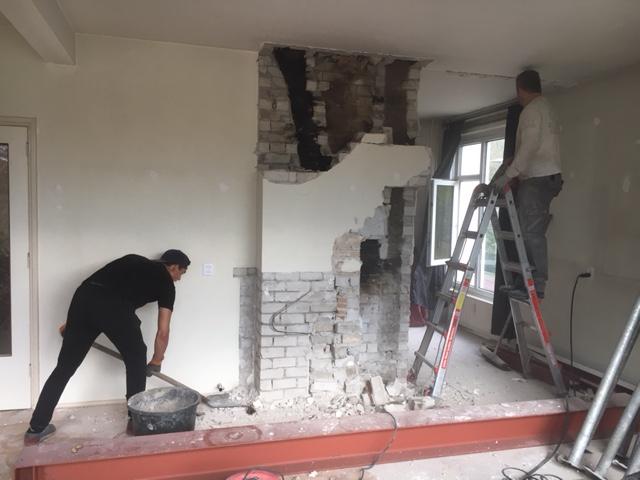 Schoorsteen verwijderen Den Haag