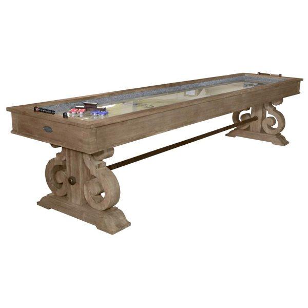 Barnstable 12-foot Shuffleboard Table Provide Years Of Fun