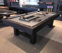Reno Pool Table with optional Dining Top | Rustic Dark ...