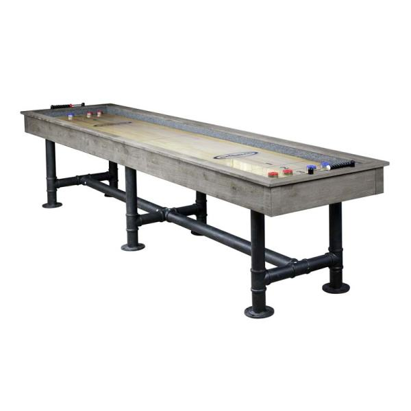 Bedford 12-ft. Shuffleboard - Years Of Fun And Enjoyment -silver Mist Finish