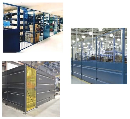 Partitions  Sheet Metal Partitions wire mesh partitions
