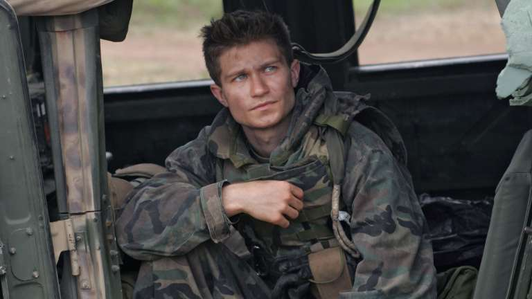Cpl Walt Hasser played by Pawel Szajda on Generation Kill
