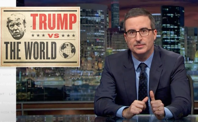 Last Week Tonight With John Oliver Official Website For