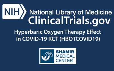 Hyperbaric Oxygen Therapy Effect in COVID-19 RCT