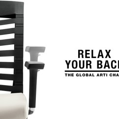 Office Chair Posture Buy Revolving Making Noise The Global Arti Chair: Relax Your Back