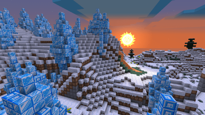 No, the Ice Spike biome won't kill you instantly.