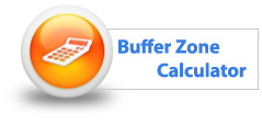 Buffer Zone Calculator