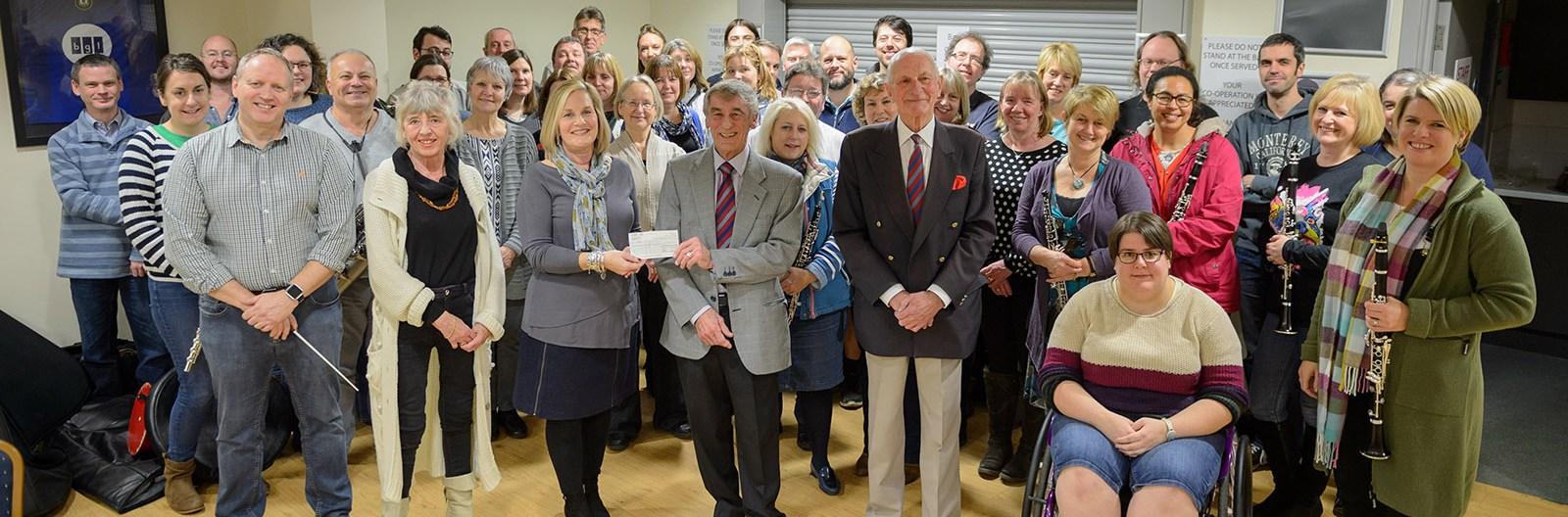 HCB Raise £5000 for SSAFA