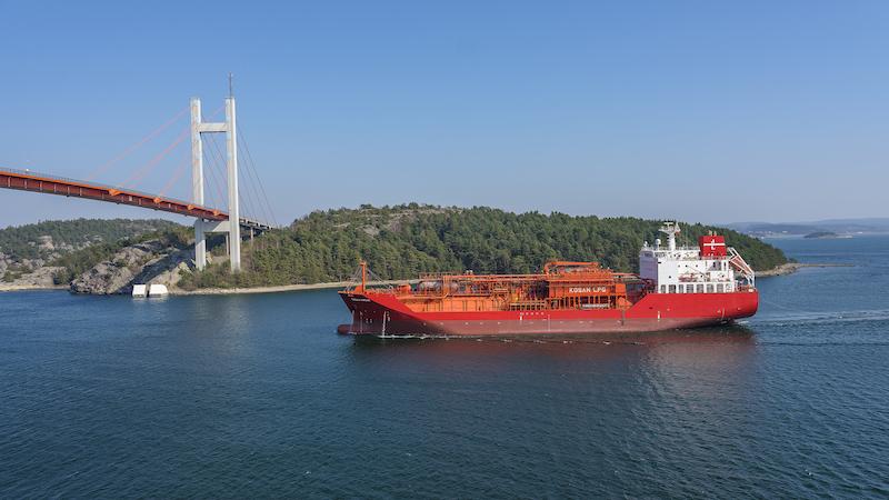 Teekay LNG takes ethylene fleet to Lauritzen pool