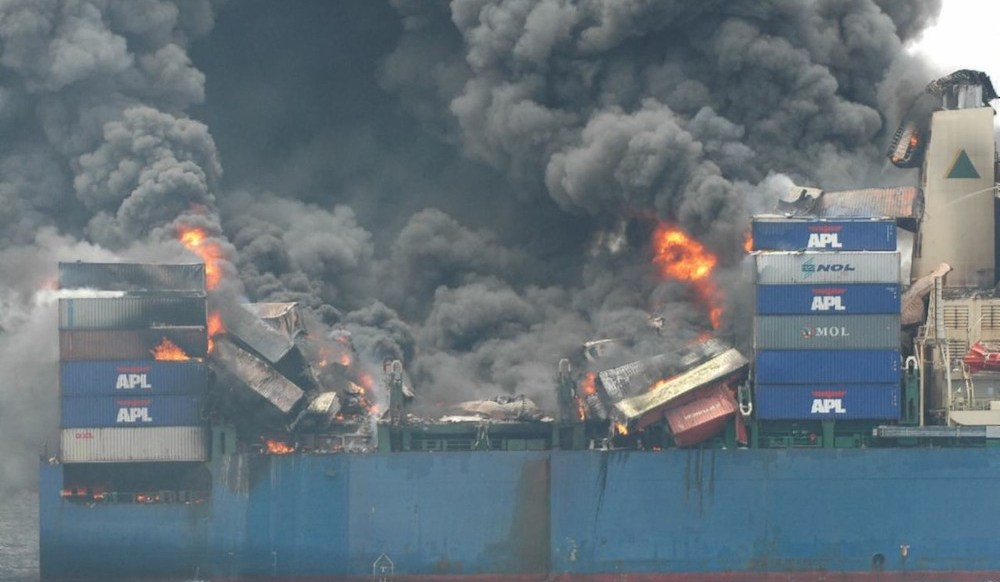 Containers: Fire retardant