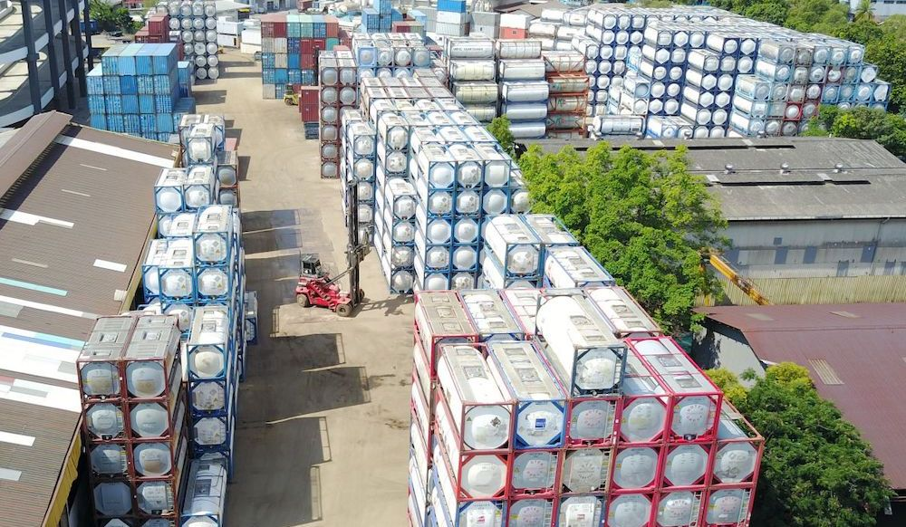 Tank containers: Up we go again